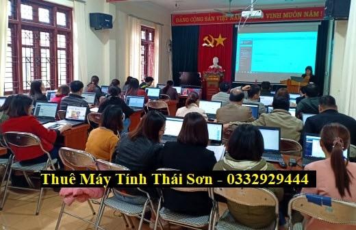 Thuê Laptop Tập huấn sử dụng hệ thống tại Tỉnh Bắc Kạn