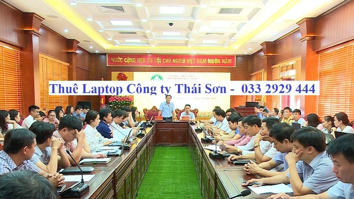 Thuê Laptop Tập Huấn Phần mềm Tỉnh Bắc Ninh